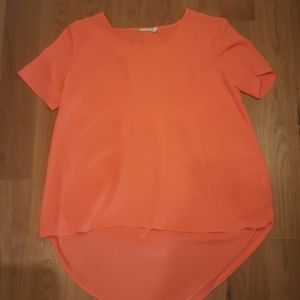 Lush(Nordstrom) Neon Coral top